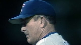 TEX@CAL: Nolan Ryan records his final strikeout