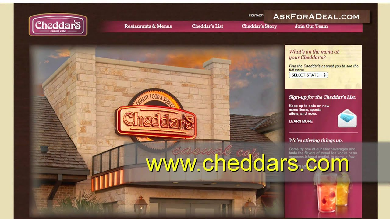 image regarding Cheddars Coupons Printable known as Coupon codes for cheddars / Deck excursion