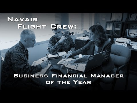 Flight Crew: Business Financial Manager of the Year
