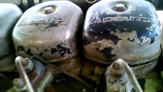 Deutz 6 cylindre 120 CV caprari 3 turbine  /80