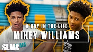 Mikey Williams Grew Up Hooping Around SNAKES and BOBCATS?! 🐍 | SLAM Day in the Life