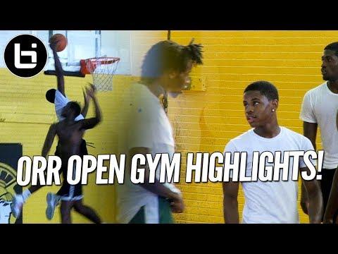 Chase Adams, Raekwon Drake! Chicago Orr Open Gym Highlights!