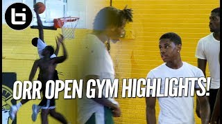 Chase Adams, Raekwon Drake! Chicago Orr Open Gym Highlights!