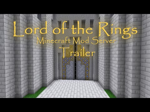 Lord Of The Rings Minecraft Server Trailer