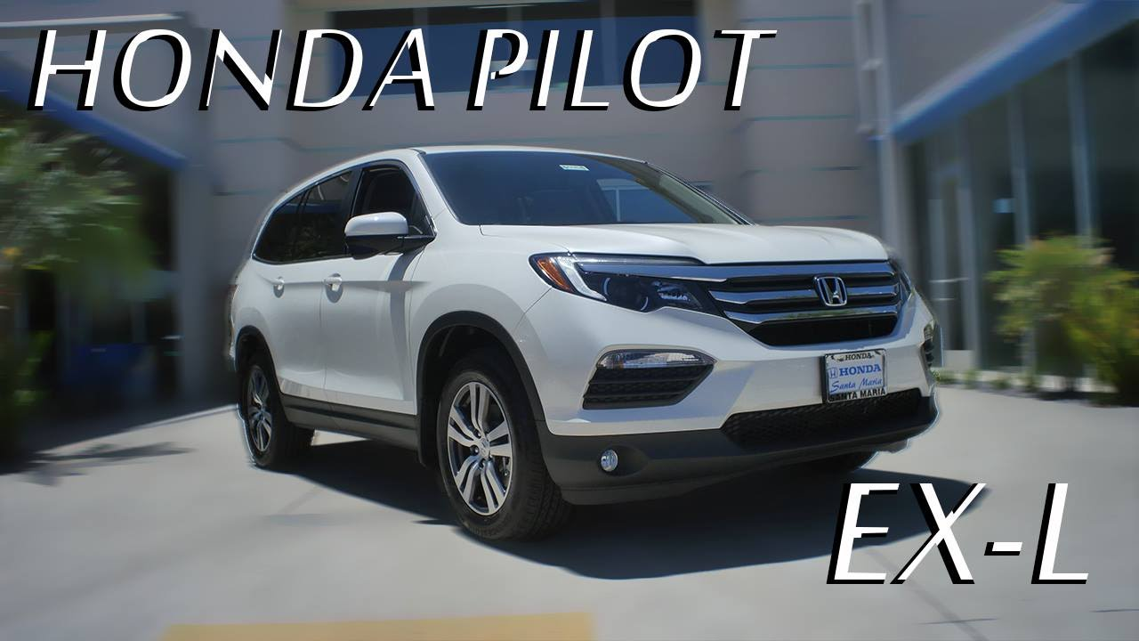 2016 Honda Pilot Ex L Review Youtube
