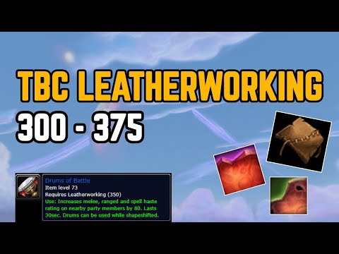 TBC Leatherworking Profession Guide 300-375 🐂