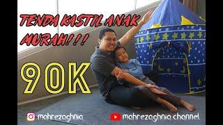 Tenda Anak Bermain Model Castle Kids Camping indoor SPEEDS