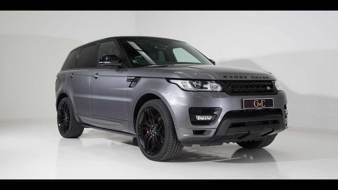 gve london land rover range rover sport autobiography. Black Bedroom Furniture Sets. Home Design Ideas