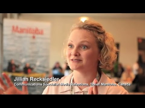 Jillian Recksiedler, Travel Manitoba, Canada - TBEX North America 2016