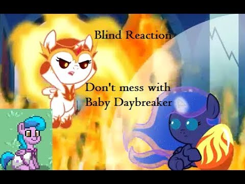 Blind Reaction - Don't Mess with Baby Daybreaker! Animation