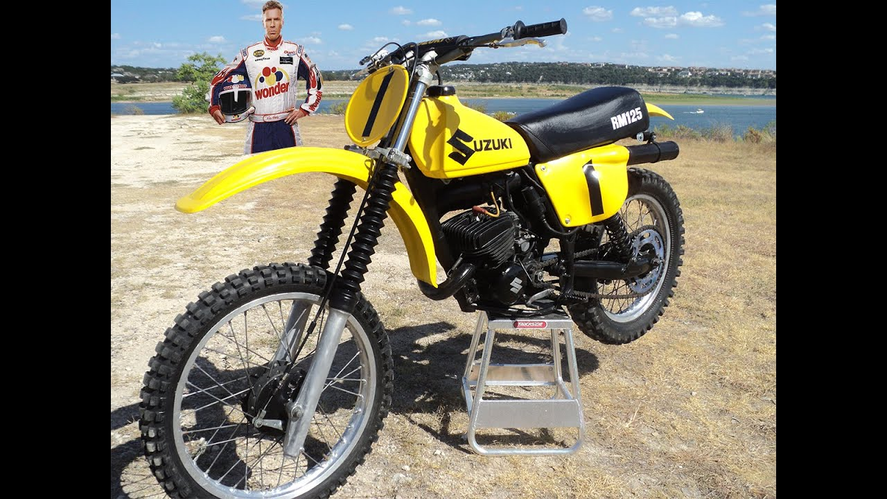 for sale vintage 1978 suzuki rm 125 fast youtube. Black Bedroom Furniture Sets. Home Design Ideas