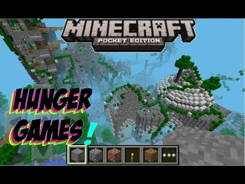 Minecraft PE 0.7.6 Hunger Games [DOWNLOAD] - YouTube