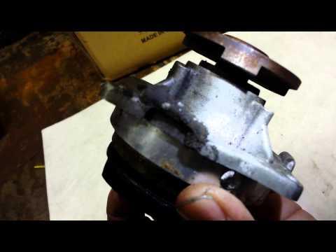 Water Pump, 2002 Ford Focus, Failed Plastic Impeller