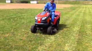 IHIシバウラ LT182 乗用芝刈機