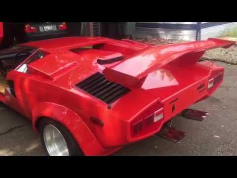 Lamborghini Countach Replica For Sale Youtube