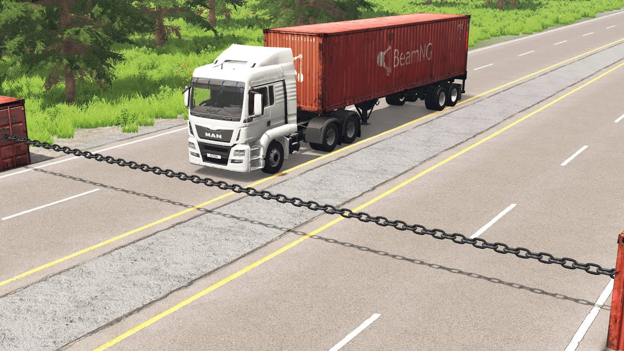 Download Cars vs Chain – BeamNG.Drive