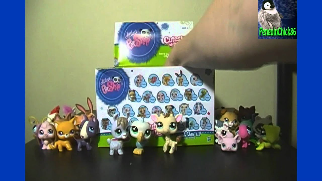 Littlest Pet Shop Cutest Pets Opening Blind Mystery Pack