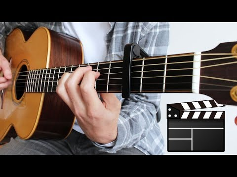 7 MOVIE Songs to play on Guitar FINGERSTYLE