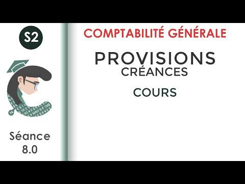 CG2; séance 8:  les provisions sur les créances