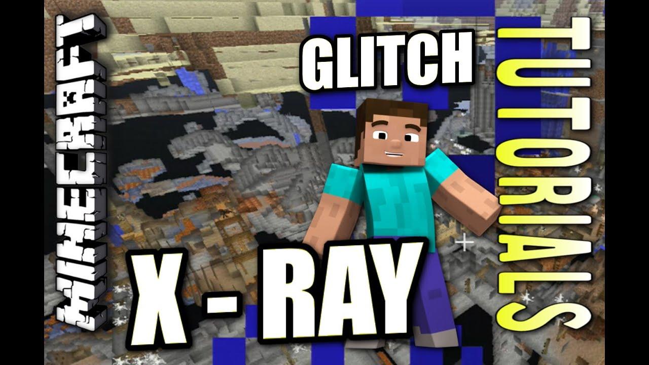 Minecraft PS4 - X-RAY GLITCH - How To - Tutorial ( PS3 / XBOX )