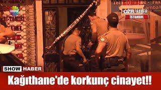 Kağıthane'de korkunç cinayet!!