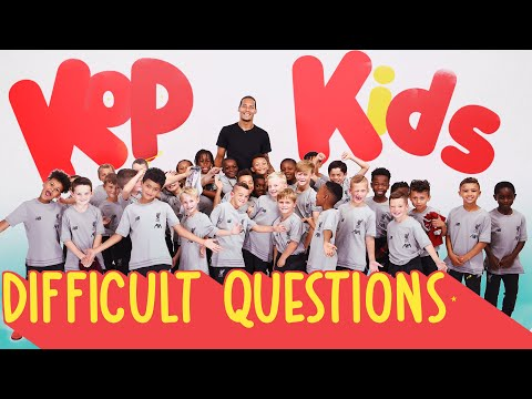 Virgil Van Dijk quizzed by 8 year-olds | 'Can you ring Jrgen Klopp?'