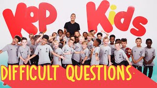 Virgil Van Dijk Quizzed By 8 Year Olds | 'can You Ring Jürgen Klopp?'