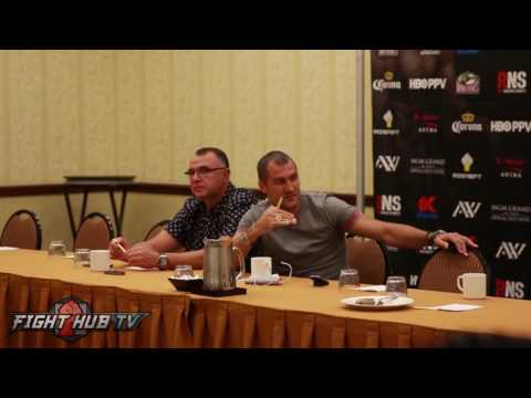 Kovalev vs. Ward - Sergey Kovalev 's COMPLETE Media Roundtable- Dallas, TX