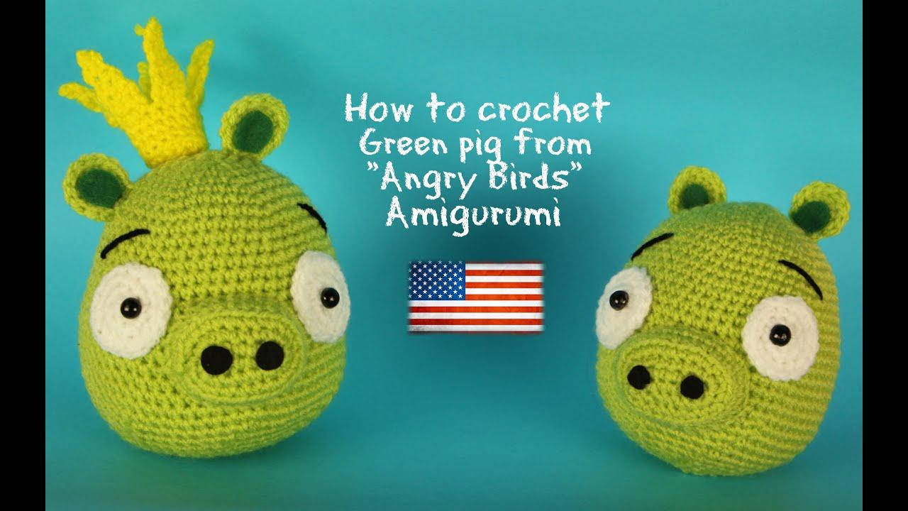 Tutorial Amigurumi Angry Bird : My angry birds crochet