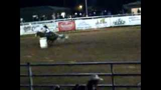 SWOSU Rodeo 2013 Barrel Racing