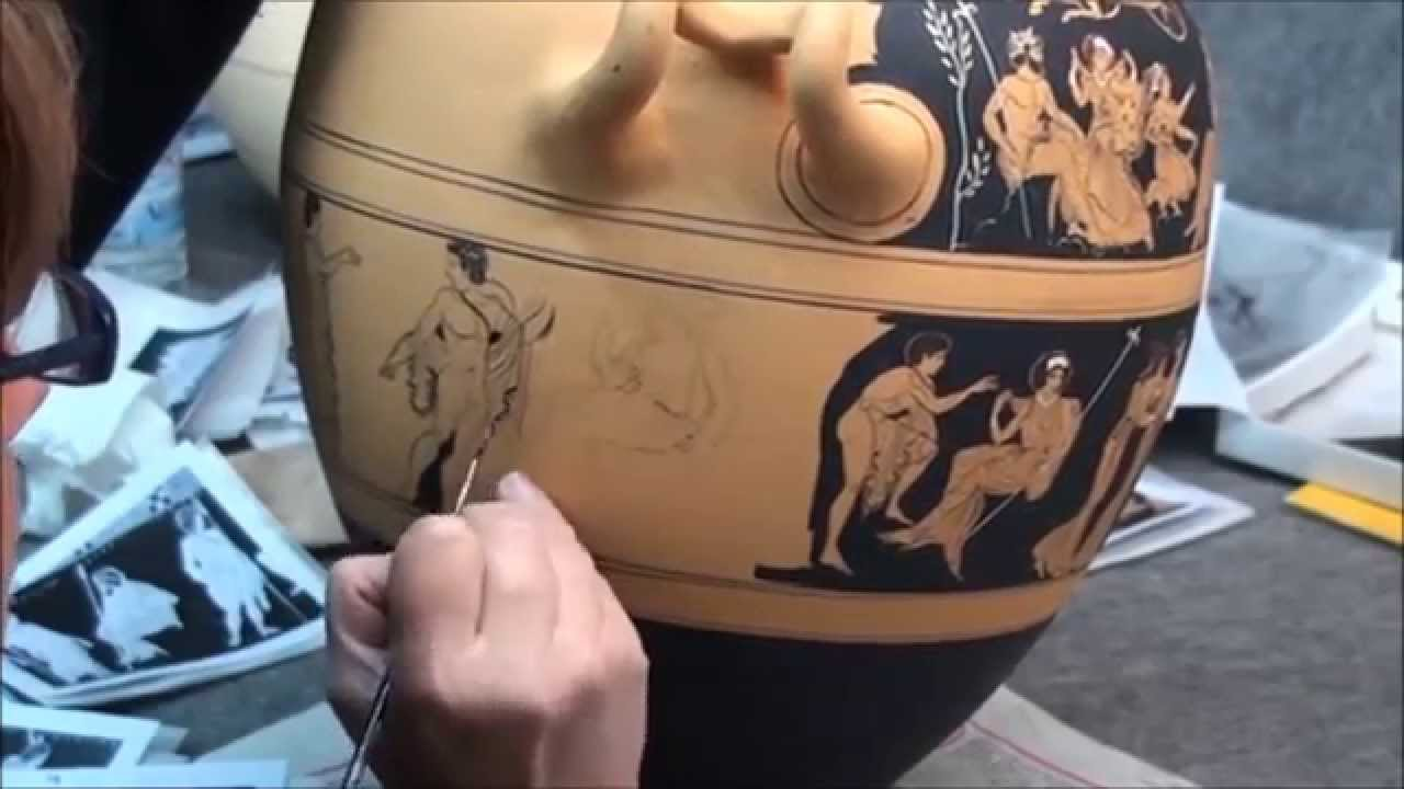 an analysis of greek vase painting and the black figure technique The lysippides painter decorated vases in the black-figure technique in athens from about 530 to 510 bc he decorated a wide variety of vessels, from amphorai to cups, and favored horses and mythological scenes.