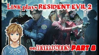 Link plays Resident Evil 2 on Halloween - part 8
