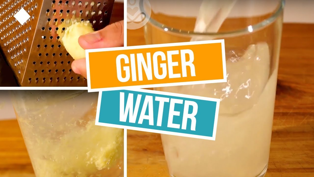 How to Make Ginger Water - YouTube