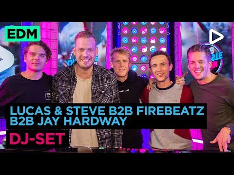Lucas & Steve B2B Firebeatz B2B Jay Hardway (DJ-set)   SLAM!