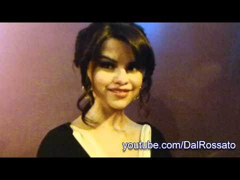 Selena Gomez Wax Figure at Madame Tussauds in Hollywood