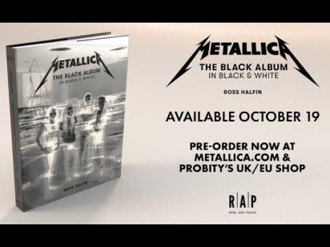 'Metallica: The Black Album In Black & White' new photo book set for 2021!