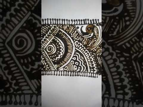 Pot mandala mehandi design /mehandi design/new world