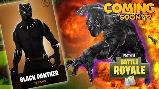 *NEW* Black Panther Skin in Fortnite! 😱 Fortnite Funny Moments, Glitches & Fails!