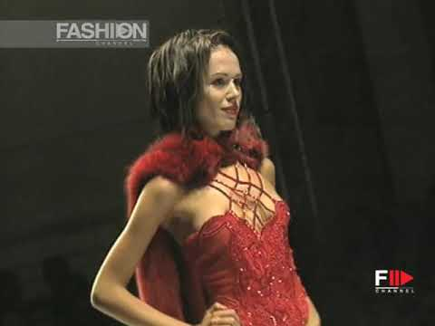 ANTON GIULIO GRANDE Fall Winter 1998 1999 Haute Couture Rome - Fashion Channel