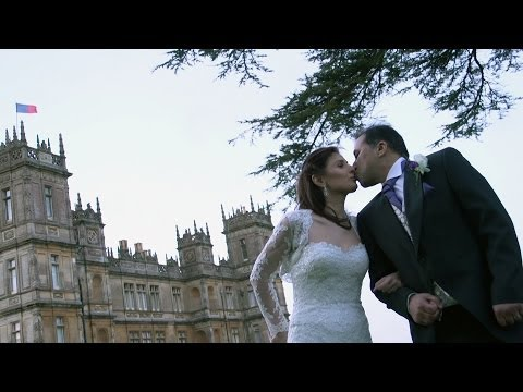 Wedding at Highclere Castle