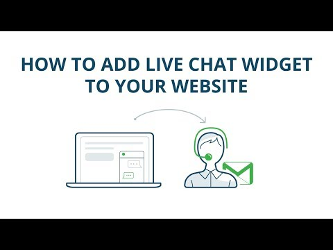 How To Add Live Chat Widget To Your Website