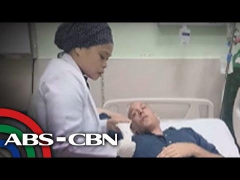 TV Patrol: Foreign journalist sa Marawi, tinamaan ng bala