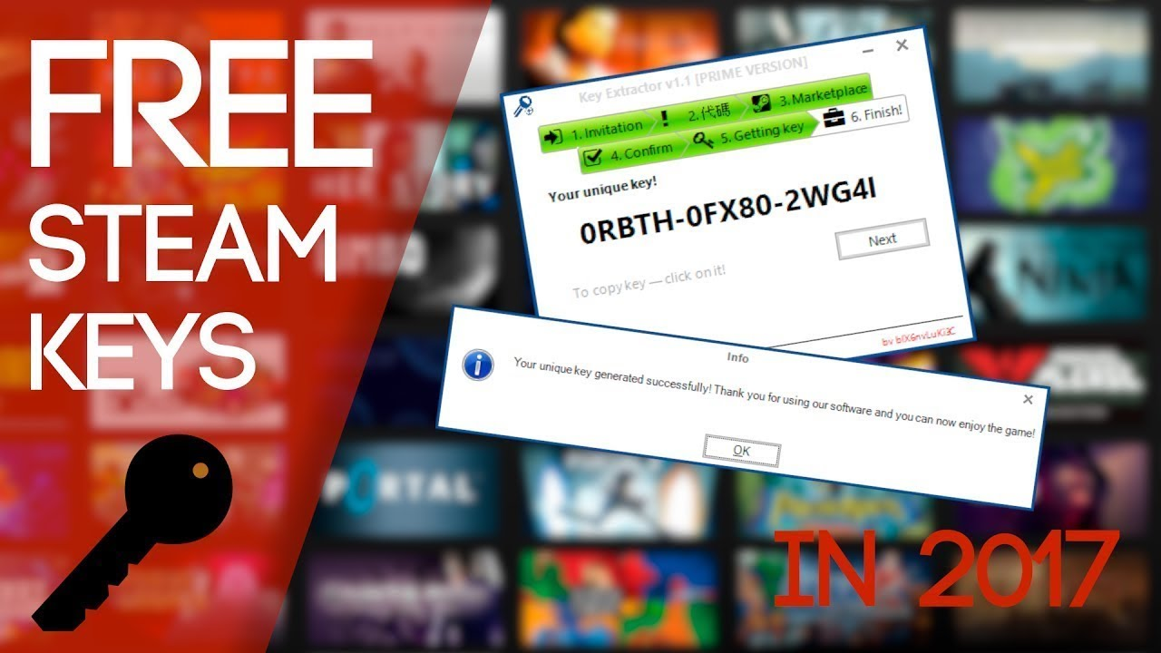 How to get Steam Games Keys FREE!!! 2017 || (100% WORKING METHOD)
