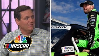 Ross Chastain subbing in for Ryan Newman at Las Vegas | Motorsports on NBC