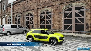 Citroen C4 Cactus 2018 driven at Carriageworks Sydney