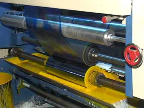 HIGH SPEED ROTOGRAVURE PRINTING MACHINE V.K ENGINEERS AHMEDABAD