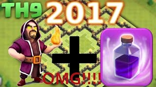 OMG!!! wizard and Rage spell event is really awesome 2017[Clash Of Clan]event[1]