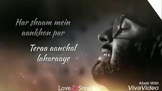 Mai sans leta hoon teri khushboo ati hai song for whatsapp status