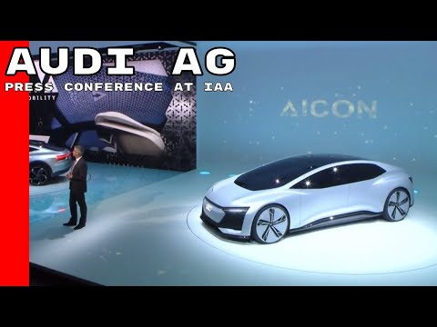 AUDI AG Press Conference at IAA