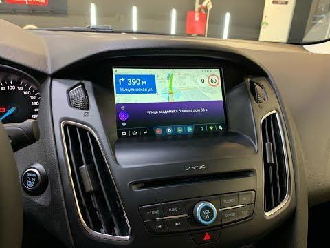 Яндекс навигация в Sync 2,3 на Ford Focus 3, Kuga, Форд Explorer (Android)